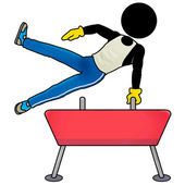 Pommel horse — Stock Photo