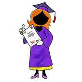 Graduarse de la escuela — Foto de Stock