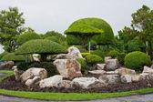 Garden stone — Stock Photo