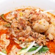 Thai noodle soup. — Stock Photo