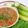 Thai food. Curry cooked vegetables. — Stock Photo #4459341