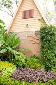 Home garden — Stock Photo