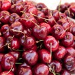 Division of fresh cherries. — Stock Photo