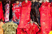 Chinese New Year clothes daily. — Stock Photo