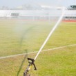 Nozzles are watering the field. — Stock Photo #5228981