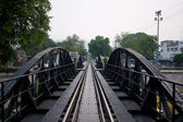 Eisenbahnstrecken. — Stockfoto