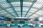 Stadium, swimming pool. — Stock Photo