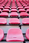 Cadeira vermelha. — Fotografia Stock