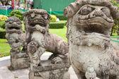 Leão estátua — Foto Stock