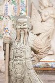 Guerriers de pierre sculptés chinois. — Photo