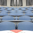 Big empty lecture hall. — Stock Photo