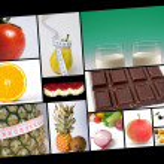 Diet Collage — Stock Photo