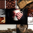 Coffee themed collage — Stock Photo #4157023