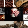 Stock Photo: Coffee themed collage