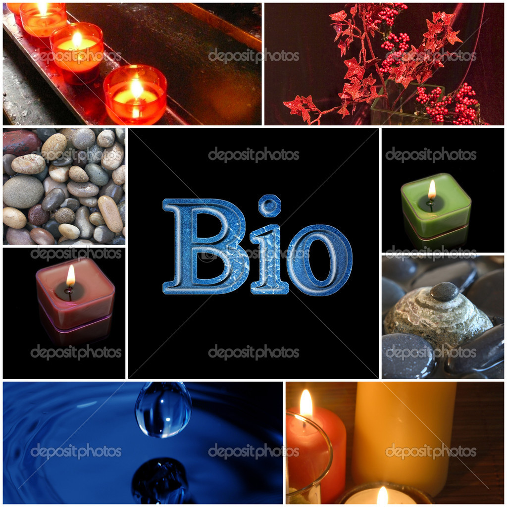Collection of spa related items forming a set of tranquil scene — Stock Photo #4321129