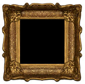 Dark wooden frame — Stock Photo