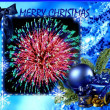 Merry christmas collage — Stock Photo #4520242