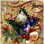 Holiday Magic collage — Stock Photo