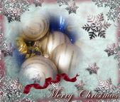 Merry christmas collage — Stockfoto