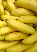 Bananas pile — Stock Photo