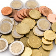 Euro coins — Stock Photo #5199616