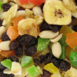 Variety  of dried fruits and nuts — Foto de Stock