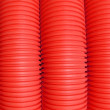 Abstract Red Piping — Stock Photo