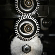 Mechanism of gears — Foto Stock