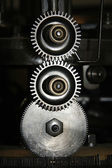 Mechanism of gears — Stock Photo