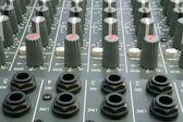 Audio Mixing Desk — Stock Photo