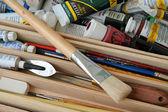 Paint Brushes — Stock Photo
