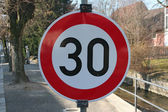 Sign 30 — Stock Photo
