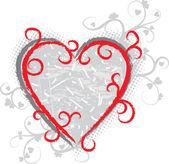 Valentine grunge background — Stock Photo