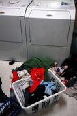 Schmutzige wäsche — Stockfoto