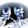 Stock Photo: Skeletons