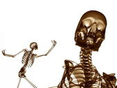 Two Xray Bones — Stock Photo