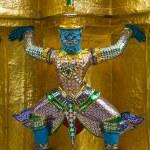 Guardians Surrounding Temple in Bangkok - Wat Pho, Thailand — Stock Photo #4306497