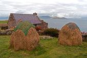 Alte irische Behausung — Stock Photo