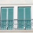 Balcony window — Stock Photo