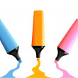 Markers — Vector de stock #4590397