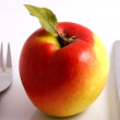 Apple diet — Stock Photo