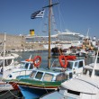 Mediterranean boats — Stock Photo #4070077