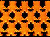 Reflector Bears — Stock Photo