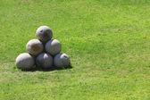 Round stones — Stock Photo