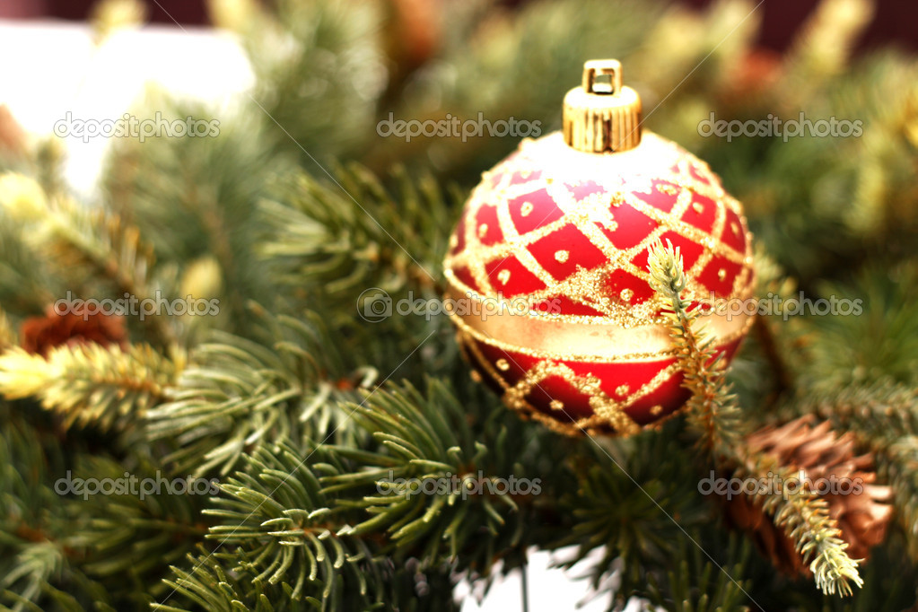 Christmas Decorations, Christmas Decoration Ideas, Christmas Tree ... — Stock Photo #4413558