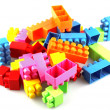 Toy building blocks - Stock Photo