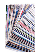Pile of journals — Stockfoto