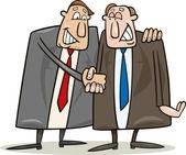 Politicians agreement — Stock Vector