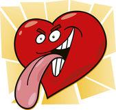 Κακόβουλο καρδιά — Διανυσματικό Αρχείο