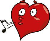 Laidback coeur — Vecteur